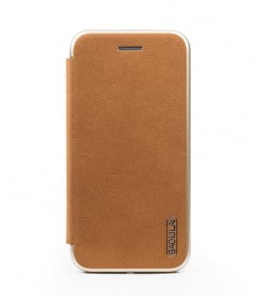 Baolilai Grain Leather Flip Wallet iPhone X Case