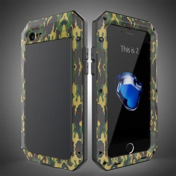 Metal Camo Case for iPhone 7