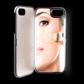 iPhone X LED Selfie Light Makeup Mirror Case
