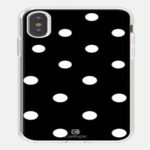 iPhone X Polka Dot Designer Case
