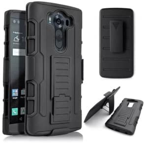 LG G4 Tough Shockproof Defender Case with Belt Clip