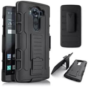 LG G4 Tough Shockproof Defender Case with Belt Clip