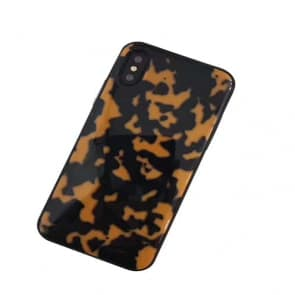 Brown Tortoise Pattern iPhone X Case