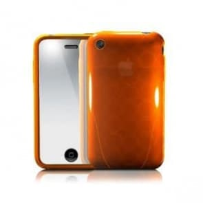 iSkin Solo FX Sunset Orange Case iPhone 3G 3GS