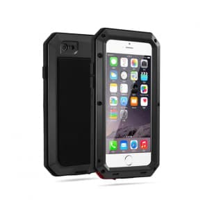Shockproof Gorilla Glass Metal Case for iPhone 7