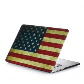 MacBook Pro Skin Shell Full Body Case for MacBook Air Pro Retina 11 13 15 All Models US Flag