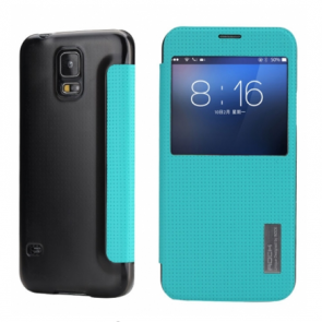 Rock Elegant Series Flip Case for Samsung Galaxy S5 Blue