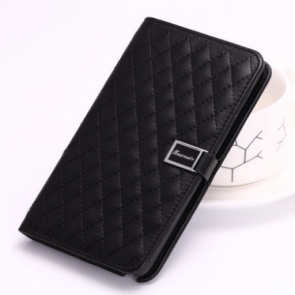 Leather Flip Wallet Case for Galaxy Note 4