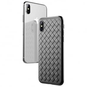 iPhone X Weaved Mesh Case