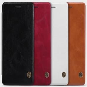 Moto G (2015) 3rd Gen Genuine Leather Flip Wallet Case