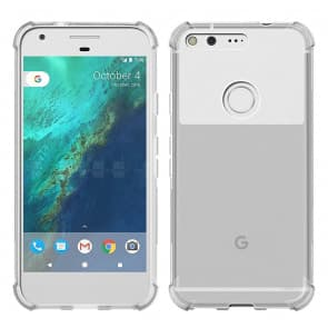 Clear Air Cushion Case for Google Pixel XL