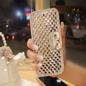 Crystal Studded Bling Case For iPhone 6 6s Plus