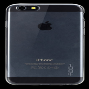 Rock iPhone 6 Plus 5.5 inch TPU Case Clear Black