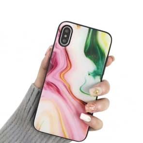 Agate Pattern iPhone X Case