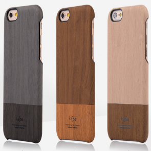 Kajsa Elegant Wooden Slider Case for iPhone 6 Plus