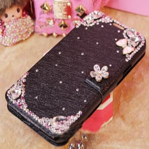 Luxury Flashy Rhinestone Flip Wallet Case for iPhone 6 6s Plus