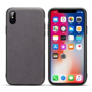 Basic Leather TPU Case for iPhone X