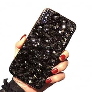 Diamond Gemstone Case for iPhone X