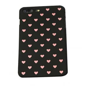iPhone X Multi Hearts Pattern Case
